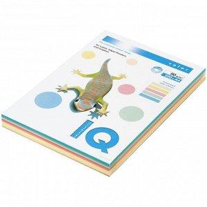 """Бумага IQ """"Color Pastell Mixed Packs"""" А4, 80г/м2, 250л. (5 цветов)"""