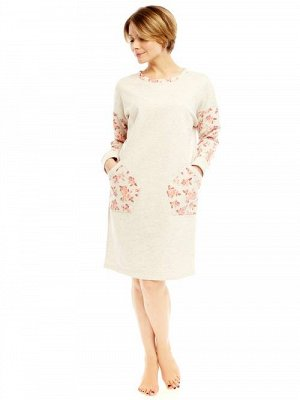 Платье футер (46-56 р)