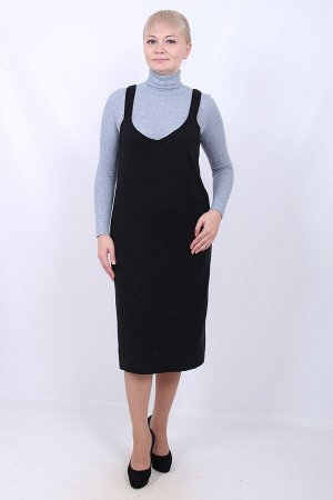 Л43 сарафан женский, 11 (Черный)