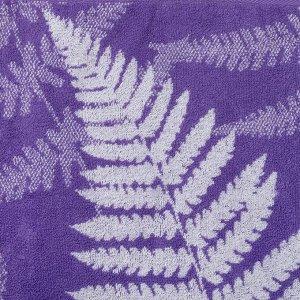"""Полотенце махровое """"Этель"""" Шелест, цвет ультрафиолет, 70х130 см, 100% хл, 420 г/м?"""