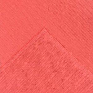 Накидка для сауны жен (75х150), цв.коралл, ваф.полотно 160г/м, хл100%