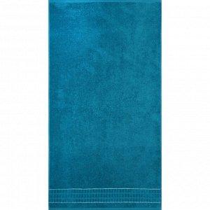 Полотенце махровое «Megapolis» 70х130 см, цвет тёмно-бирюзовый, 390 гр/м2