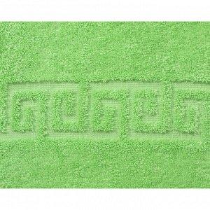 Полотенце махровое, 70х140 см, цвет салат