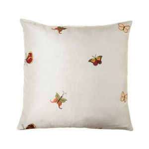 Наволочка декоративная 50х50см, бабочки 1, 100% п/э