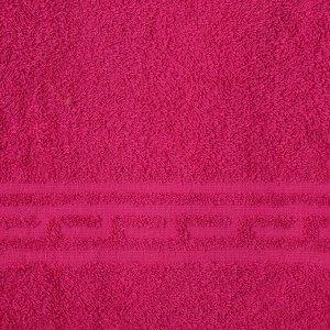 Полотенце Ocean 70х130 см, темно-бордовый, хлопок 100%, 360 г/м2