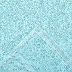 Полотенце Ocean 70х130 см, бирюзовый, хлопок 100%, 360 г/м2