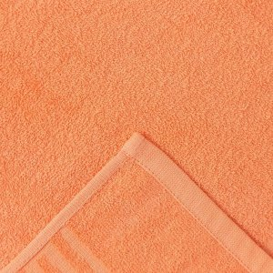 Полотенце Ocean 70х130 см, персиковый, хлопок 100%, 360 г/м2