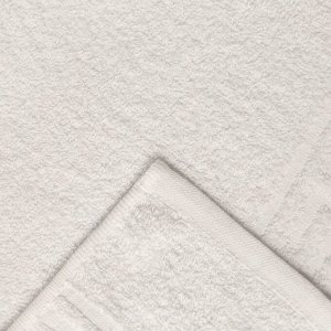 Полотенце Ocean 70х130 см, белый, хлопок 100%, 360 г/м2