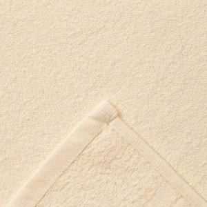 Полотенце Ocean 70х130 см, светло-кремовый, хлопок 100%, 360 г/м2
