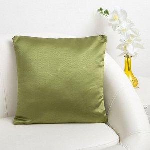 Декоративная подушка «Этель» 40?40 см, Дамаск CYPRESS SOLID