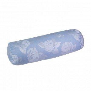 Подушка «Валик», размер 40х10 см с гречихой, тик