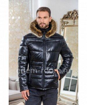 Куртка из натуральной кожи для зимыАртикул: C-53519-2-65-CH-EN