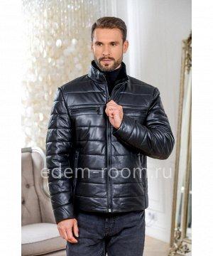 Короткая кожаная куртка для прохладной погодыАртикул: I-1668-70-CH