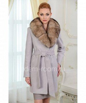 Женское пальто из шерстиАртикул: AR-1707-90-BG-P
