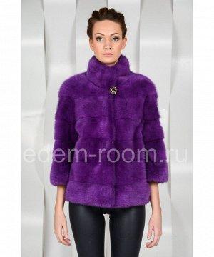 Норковая шуба - куртка Артикул: N-1385-1-60-F
