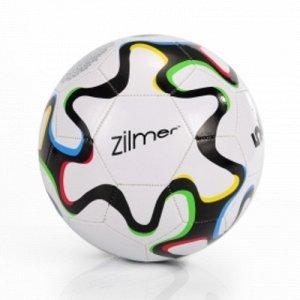"""Мяч футбольный  """"Ziimer"""" Лучший игрок , размер 5 , ПВХ , черно-белый"""