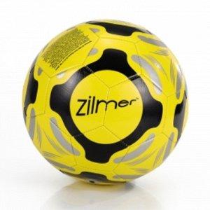 """Мяч футбольный  """"Ziimer"""" Первая тренировка , размер 5 , ПВХ , желто-черный"""