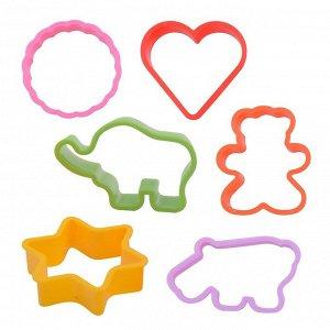 """Набор 6 форм для печенья """"Мозаика"""""""