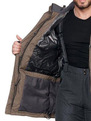 Куртка A8851 Коричневый