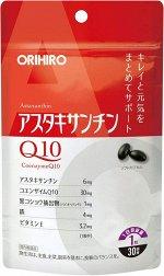 Orihiro астаксантин и коэнзим Q10