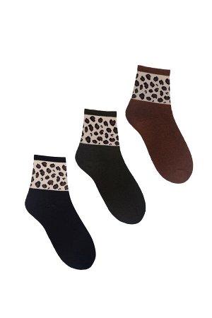 Носки Оцелот женские плюш