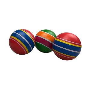 Мяч резин. 75 мм полоса Р3-75 РОССИЯ