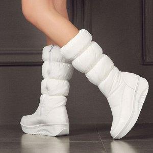Модные тренды Сапоги белые