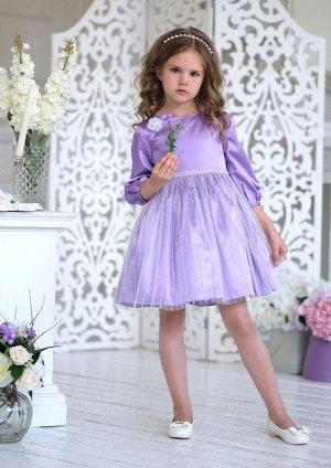 Блума нарядное платье сиреневый
