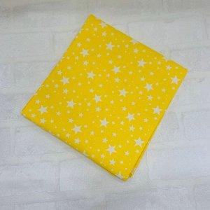 Наволочка 70х70 Жёлтый, звездопад