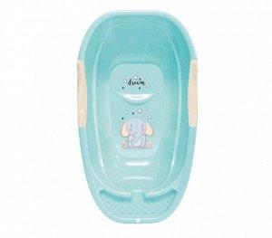 Ванна Ванна дет. 25,0л МАЛЮТКА БИРЮЗА. Размер изделия (мм): 750*415*245. Для купания малыша нужна особая ванночка, это знает каждый заботливый родитель. Для того, чтобы купание было веселым и комфортн