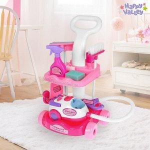 Игровой набор «Мамина помощница», с пылесосом и аксессуарами