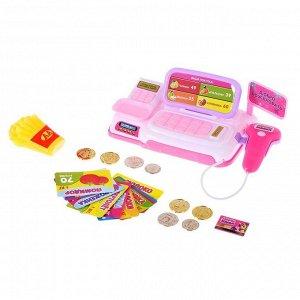 Набор игровой «Мини касса» с аксессуарами, световые и звуковые эффекты