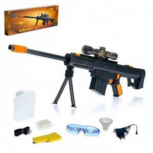 Скорострельная автоматическая винтовка «Чёрная кобра», стреляет гелевыми пулями, работает от аккумулятора