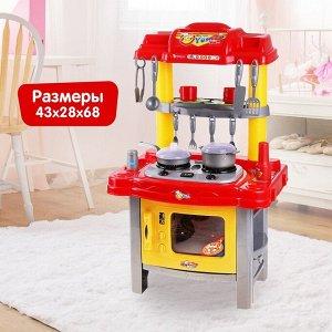 Игровой модуль «Кухня хозяйки» с аксессуарами, световые и звуковые эффекты, высота 69 см, МИКС