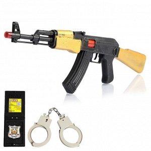 Набор полицейского «Захват», с АК-47, 3 предмета