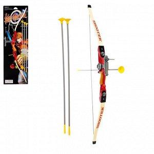 Лук «Королевский лучник», стреляет стрелами с присосками