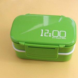 "Ланчбокс ""Lanch time""_green"