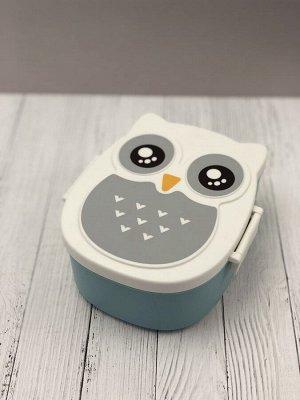 Ланчбокс OWL, голубая