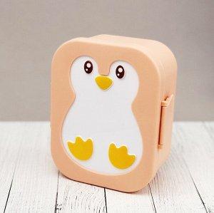 """Ланчбокс """"Пингвин"""", orange"""