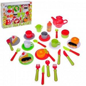 """Набор посуды с продуктами """"Завтрак для всей семьи"""""""