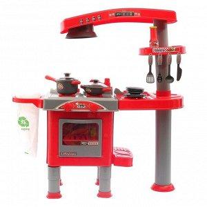 Игровой модуль кухня «Весело готовим» с аксессуарами, высота 82,5 см