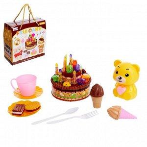 Игровой набор «Тортик на День Рождения», с аксессуарами