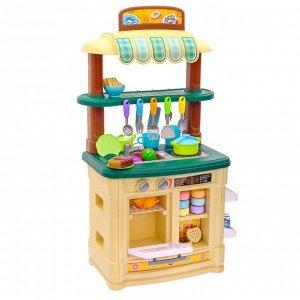 Игровой модуль кухня «Шик» мини №2, индукция, с водой из крана