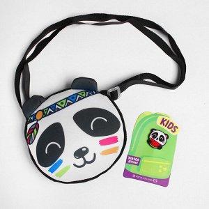 Сумка «Панда», детская, со значком
