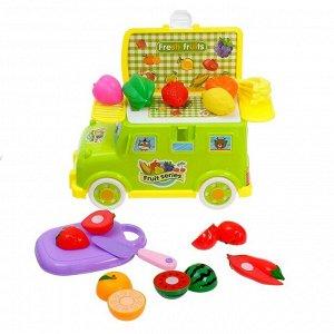 Игровой набор «Фруктовая лавка», в машинке