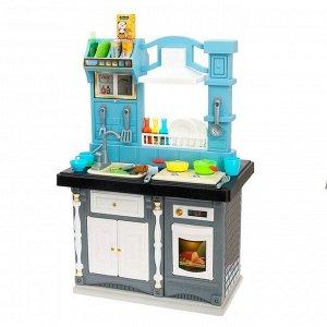 Игровой модуль кухня «Классик» двухсторонняя, со световыми и звуковыми эффектами, бежит вода