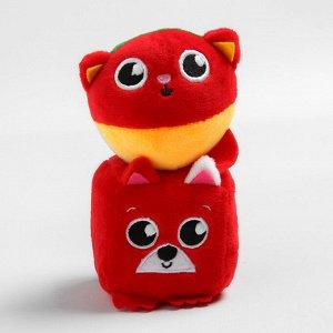 Набор развивающих игрушек, 2 предмета: кубик «Собачка», мячик «Котик»