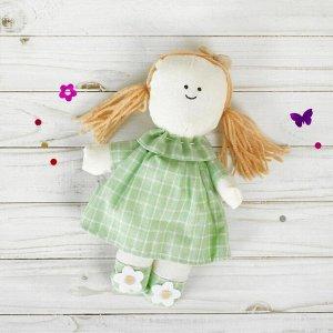Подвеска «Людмила», кукла с цветочками на голове и ножках, цвета МИКС