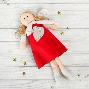 Подвеска «Ангел», кукла, стежки на крыльях, цвета МИКС