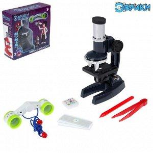 Набор для изучения микромира «Микроскоп», 7 предметов, цвет МИКС